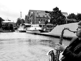 Saksofonistas, Saksofono muzika, Saksofonininkas - nuotraukos Nr. 17