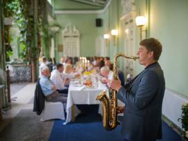 Saksofonistas, Saksofono muzika, Saksofonininkas - nuotraukos Nr. 11