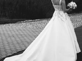 Nuostabi vestuvinė suknelė - nuotraukos Nr. 5