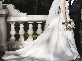 Nuostabi vestuvinė suknelė - nuotraukos Nr. 7
