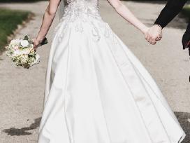 Nuostabi vestuvinė suknelė - nuotraukos Nr. 8