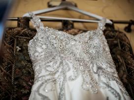 Nuostabi vestuvinė suknelė - nuotraukos Nr. 9