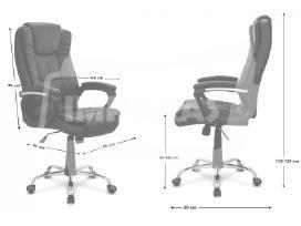 """Biuro kėdė """"Ambiente"""" ruda, juoda 84€ - nuotraukos Nr. 3"""