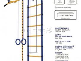 Švediškos sienelės Pioner-1 blue-yellow