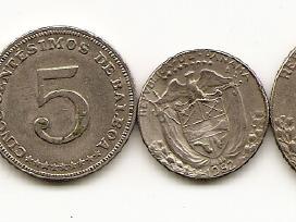 Panamos monetu rinkinukas