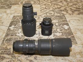 Sigma 100-300 f/4 + 1,4 telekonverteris
