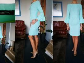 Mėtų spalvos suknelė