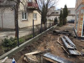 Pamatai,tvoros ir kiti betonavimo darbai