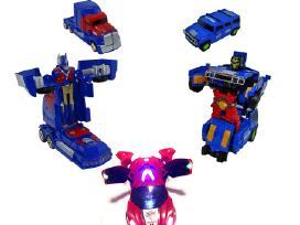 Transformeris sunkvežimis / visureigis