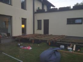 Fasadų šiltinimas. Individualių namų statyba
