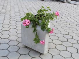 Lauko vazonai,gėlinės ir kiti betono gaminiai