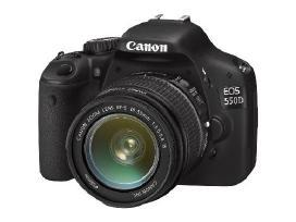 Parduodu Canon EOS 550d su 18-55mm obj. - 150 Eur