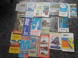 Turistiniai žemėlapiai 1974-1978