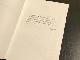 Lyderio Vizijos, užrašų knygą su sentencijomis - nuotraukos Nr. 3