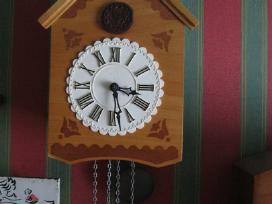 Du seni laikrodziai - labai geros bukles .zr. foto - nuotraukos Nr. 4