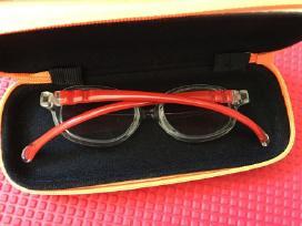 Centrostyle akinių rėmeliai 39 (raudoni)
