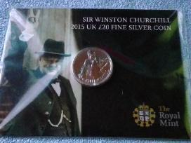 Uk 2015 m. 20 pounds silver - nuotraukos Nr. 3