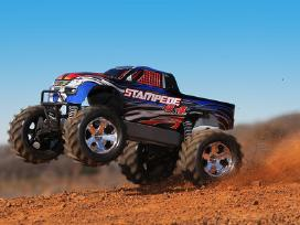 Traxxas Stampede 44 Brushed Rtr Tq masina - nuotraukos Nr. 5