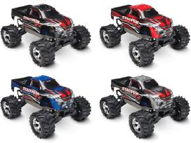 Traxxas Stampede 44 Brushed Rtr Tq masina - nuotraukos Nr. 10