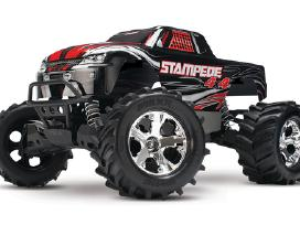Traxxas Stampede 44 Brushed Rtr Tq masina - nuotraukos Nr. 11