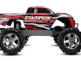 Traxxas Stampede 44 Brushed Rtr Tq masina - nuotraukos Nr. 13