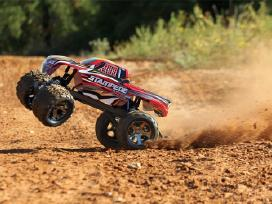 Traxxas Stampede 44 Brushed Rtr Tq masina - nuotraukos Nr. 17