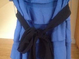 Indigo spalvos suknelė - nuotraukos Nr. 4