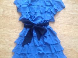 Indigo spalvos suknelė - nuotraukos Nr. 2