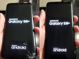 Samsung stikliukų-ekranų keitimas Klaipėda-Lietuva