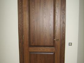 Medžio masyvo durys,laiptai,baldai