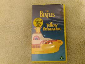 Video Vhs The Beatles-yellow Submarine