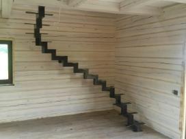 Laiptai turėklai tvoros suvirinimas