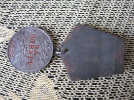 CCCP Medalis.zr. foto.za Otvagu . Sidabrinis.