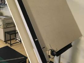 Perku kulmaną Robotron, teodolitą, atstumų matuokl