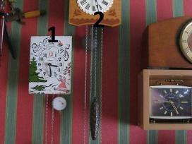 Du seni laikrodziai - labai geros bukles .zr. foto - nuotraukos Nr. 2