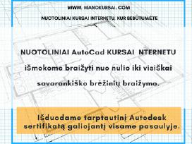 Nuotoliniai kursai: Autocad, 3ds Max, Photoshop