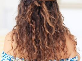Bio Cheminis plaukų garbanojimas