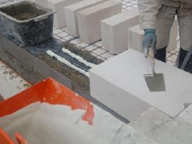 Bauroc akyto betono blokai-dujų silikato blokeliai - nuotraukos Nr. 15