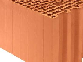 Porotherm keraminiai blokai tik nuo 55 eur/m3