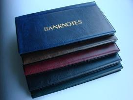 Kišeniniai albumai banknotams