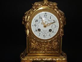 Antikvarinis židinio laikrodis XIX a. II pusė