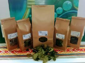 Fermentuota juodųjų serbentų lapų arbata