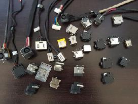 Nešiojamų kompiuterių maitinimo lizdai, kabeliai
