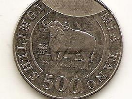 Tanzanija 500 shilingi 2014