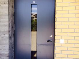 Šarvuotos,rusio,garazo durys spynu keitimas,remont