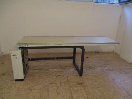 Stelaža, telferi, vakumine traversa, stala, langus - nuotraukos Nr. 13
