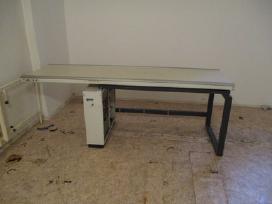 Stelaža, telferi, vakumine traversa, stala, langus - nuotraukos Nr. 14
