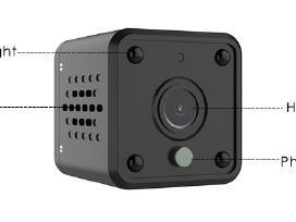 WiFi Mini Ip HD kamera - nuotraukos Nr. 12