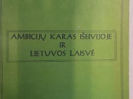 A.statkeviciaus Ambiciju karas iseivijoje ir Lt La