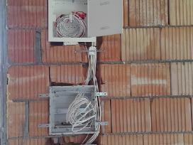 Elektros darbai - nuotraukos Nr. 2
